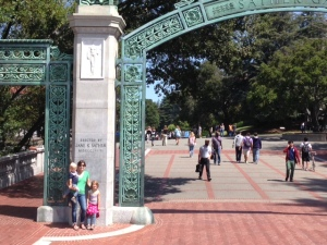 Sather Gate w_Family
